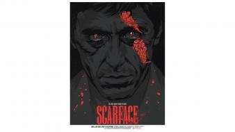 Al pacino scarface tony montana fan art movies Wallpaper