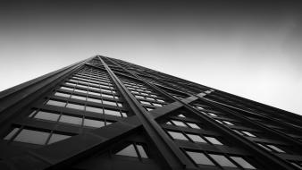 Architecture buildings monochrome cities Wallpaper