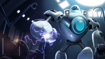 Artwork blitzcrank champions online riot moba game Wallpaper