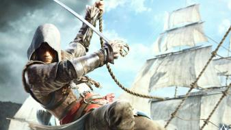 Assassins creed black flag ship deck ubisoft wallpaper