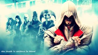 Assassins creed brotherhood widescreen Wallpaper