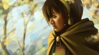 Avatar: the last airbender toph artwork wallpaper