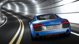 Blue pearl audi r8 effect v10 sepang wallpaper