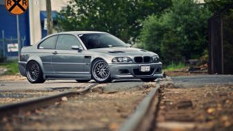 Bmw cars vehicles track m3 e46 wallpaper