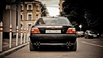 Bmw streets cars vehicles 7 series wallpaper
