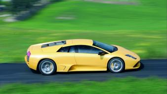 Cars lamborghini yellow wallpaper
