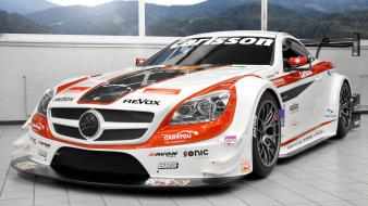 Cars race tuning carlsson mercedes benz slk wallpaper