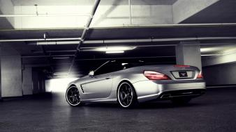 Cars vehicles mercedes-benz mercedes benz sl65 amg automobile wallpaper