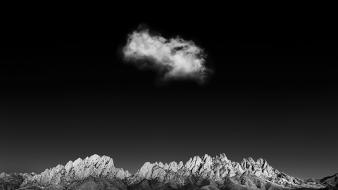Clouds grayscale Wallpaper
