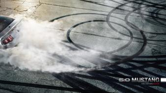 Cobra ford mustang burnout shelby gt500 supersnake wallpaper