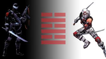 Comics g.i. joe snake eyes storm shadow wallpaper