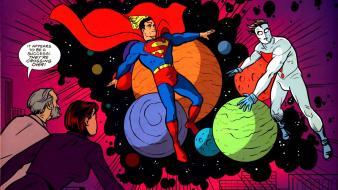 Comics superman planets madman wallpaper