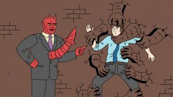 Demons ugly americans mark lilly twayne boneraper wallpaper