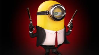Despicable me hitman animation crossovers funny wallpaper