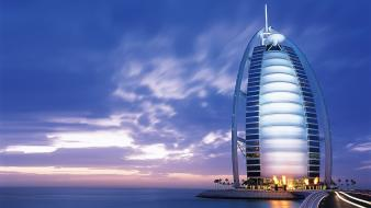 Dubai burj al arab hotel wallpaper