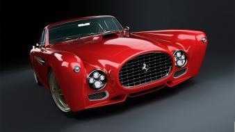 Ferrari 340 competizione cars red Wallpaper