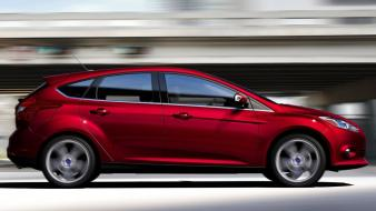 Ford focus cars red wallpaper