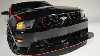 Ford mustang black cars Wallpaper