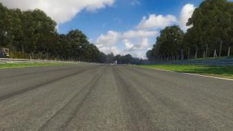 Game race tracks roads Wallpaper