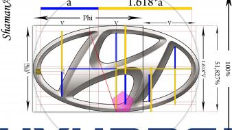 Golden ratio hyundai wallpaper