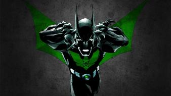 Green lantern batman black comics superheroes beyond wallpaper