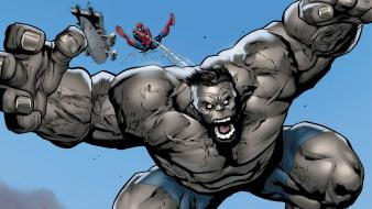 Hulk (comic character) comics spider-man wallpaper