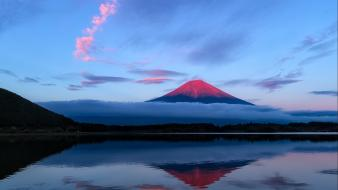 Japan mountains landscapes mount fuji wallpaper