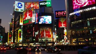 Japan shibuya cities cityscapes wallpaper