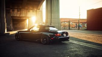 Japanese cars slammed jdm miata wallpaper