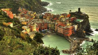 Landscapes italy vernazza wallpaper