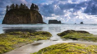 Landscapes usa washington state olympic national park peninsula wallpaper