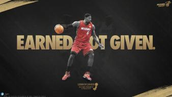 Lebron james miami heat nba basketball player wallpaper