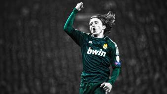 Luca modric real madrid cf football player wallpaper