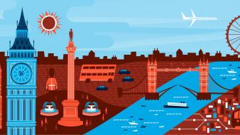 Minimalistic london google now wallpaper