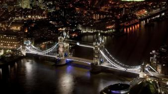 Night london tower bridge cities wallpaper