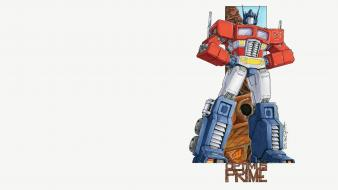 Optimus prime transformers comics wallpaper