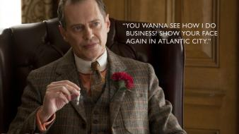 Quotes boardwalk empire tv series steve buscemi hbo wallpaper