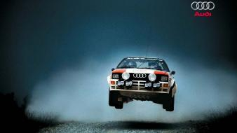 Rally audi quattro cars group b wallpaper