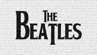 Rock band music the beatles bands fan art Wallpaper