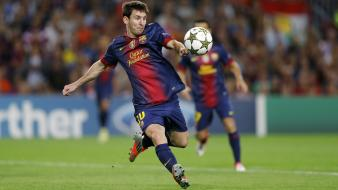 Soccer barcelona lionel messi stars wallpaper