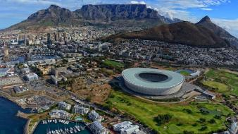 South africa cityscapes stadium wallpaper