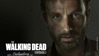 Spanish the rick grimes andrew lincoln shows wallpaper