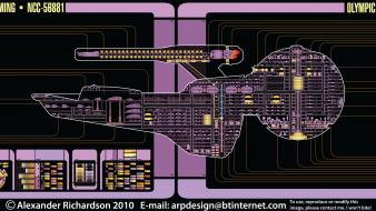 Star trek schematics schematic starship Wallpaper