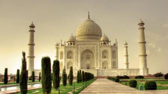 Taj mahal hdr photography wallpaper