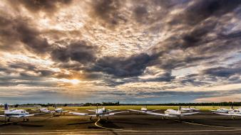 Usa florida sunlight hdr photography skies airfield Wallpaper
