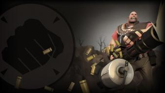 Valve corporation heavy tf2 team fortress 2 red wallpaper