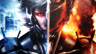 Video games artwork raiden metal gear rising: revengeance wallpaper