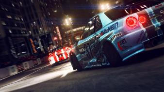 Video games cars nissan skyline grid 2 wallpaper