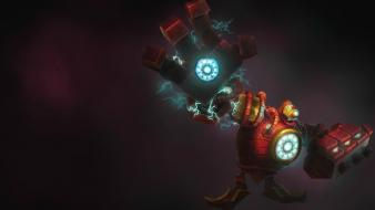 Video games league of legends blitzcrank game wallpaper