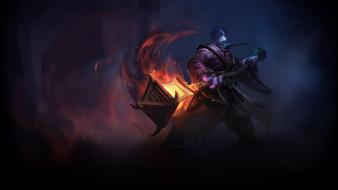 Video games league of legends fantasy art jax wallpaper